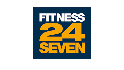 Logotype gym 24 seven